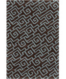 RugStudio presents Surya Ameila AME-2240 Chocolate / Teal Hand-Tufted, Good Quality Area Rug