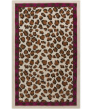RugStudio presents Surya Amour AMR-8000 Neutral / Red / Violet (purple) Area Rug
