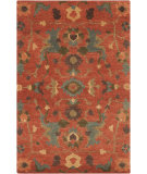 RugStudio presents Surya Anastacia ANA-8411 Burnt Sienna Hand-Knotted, Good Quality Area Rug
