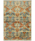 RugStudio presents Surya Antolya Ant-9712 Teal Hand-Knotted, Best Quality Area Rug