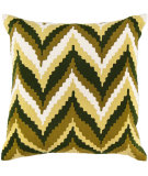 RugStudio presents Surya Pillows AR-052 Green/Ivory