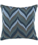 RugStudio presents Surya Pillows AR-054 Gray/Teal