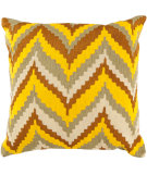 RugStudio presents Surya Pillows AR-055 Sunflower