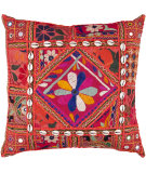 RugStudio presents Surya Pillows AR-070 Red/Multi
