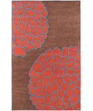 RugStudio presents Rugstudio Sample Sale 28019R Chocolate Hand-Tufted, Best Quality Area Rug