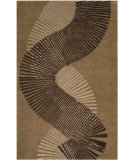 RugStudio presents Rugstudio Sample Sale 56335R Taupe/Brown Hand-Tufted, Good Quality Area Rug