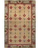RugStudio presents Surya Arts and Crafts ATC-1002 Taupe Hand-Knotted, Good Quality Area Rug