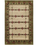 RugStudio presents Surya Arts and Crafts ATC-1006 Ivory Hand-Knotted, Good Quality Area Rug