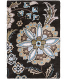 RugStudio presents Rugstudio Sample Sale 65499R Jet Black Hand-Tufted, Best Quality Area Rug
