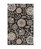 RugStudio presents Surya Athena ATH-5061 Jet Black Hand-Tufted, Best Quality Area Rug