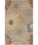 RugStudio presents Surya Athena ATH-5106 Pussywillow Gray Hand-Tufted, Best Quality Area Rug
