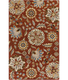 RugStudio presents Surya Athena ATH-5126 Neutral / Red / Blue Area Rug