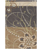 RugStudio presents Surya Athena ATH-5128 Neutral / Violet (purple) / Green Area Rug