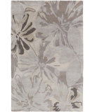 RugStudio presents Rugstudio Sample Sale 110853R Charcoal Hand-Tufted, Best Quality Area Rug