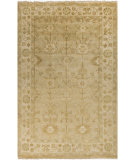 RugStudio presents Surya Antique ATQ-1003 Neutral / Yellow / Green Hand-Knotted, Best Quality Area Rug