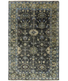 RugStudio presents Surya Antique Atq-1008 Charcoal Hand-Knotted, Good Quality Area Rug