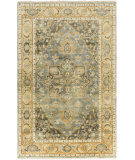 RugStudio presents Surya Antique Atq-1012 Charcoal Hand-Knotted, Good Quality Area Rug
