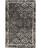 RugStudio presents Surya Atlas ATS-1001 Coal Black Woven Area Rug