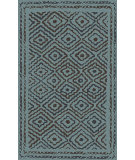 RugStudio presents Surya Atlas ATS-1013 Green / Teal Hand-Knotted, Good Quality Area Rug
