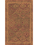 RugStudio presents Surya Atlas ATS-1014 Neutral / Orange / Violet (purple) Area Rug