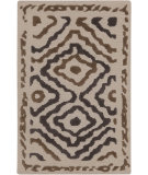 RugStudio presents Surya Atlas ATS-1016 Neutral / Violet (purple) Hand-Knotted, Good Quality Area Rug