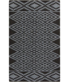 RugStudio presents Surya Aztec AZT-3004 Charcoal Flat-Woven Area Rug