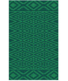 RugStudio presents Surya Aztec AZT-3006 Teal Woven Area Rug