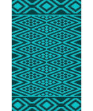 RugStudio presents Surya Aztec AZT-3013 Aqua / Teal Woven Area Rug