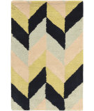 RugStudio presents Surya Bali BAL-1929 Neutral / Blue / Green Area Rug