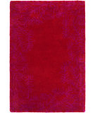 RugStudio presents Surya Bali BAL-1944 Violet (purple) / Red Area Rug
