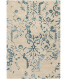 RugStudio presents Surya Banshee Ban-3326 Teal Blue Hand-Tufted, Good Quality Area Rug