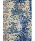 RugStudio presents Surya Banshee BAN-3342 Neutral / Green / Blue Hand-Tufted, Good Quality Area Rug