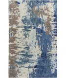 RugStudio presents Surya Banshee BAN-3342 Neutral / Green / Blue Area Rug