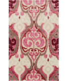 RugStudio presents Surya Banshee BAN-3349 Neutral / Pink / Red Area Rug