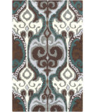 RugStudio presents Surya Banshee BAN-3350 Light Gray / Teal Hand-Tufted, Good Quality Area Rug