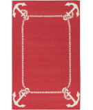 RugStudio presents Surya Boardwalk Bdw-4034 Cherry Woven Area Rug
