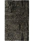 RugStudio presents Surya Bjorn Bjr-1008 Chocolate / Charcoal Hand-Knotted, Good Quality Area Rug