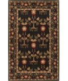 RugStudio presents Surya Bungalo Bng-5019 Jet Black Hand-Tufted, Good Quality Area Rug