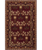 RugStudio presents Surya Bungalo Bng-5020 Maroon Hand-Tufted, Good Quality Area Rug