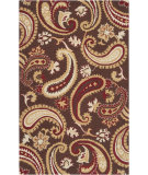 RugStudio presents Rugstudio Sample Sale 73076R Sepia Hand-Hooked Area Rug