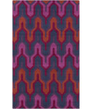 RugStudio presents Surya Brentwood BNT-7703 Red / Violet (purple) / Blue Area Rug