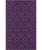 RugStudio presents Surya Brentwood BNT-7705 Violet (purple) / Blue Area Rug