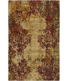 RugStudio presents Surya Brocade BRC-1002 Beige Hand-Knotted, Good Quality Area Rug