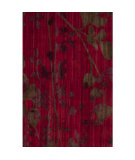 RugStudio presents Surya Brocade Brc-1005 Venetian Red Hand-Knotted, Good Quality Area Rug