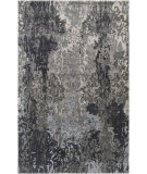 RugStudio presents Surya Brocade Brc-1010 Charcoal Hand-Knotted, Good Quality Area Rug