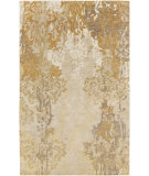 RugStudio presents Surya Brocade Brc-1011 Beige Hand-Knotted, Good Quality Area Rug