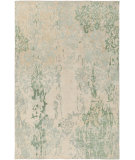 RugStudio presents Surya Brocade Brc-1012 Beige Hand-Knotted, Good Quality Area Rug