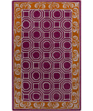 RugStudio presents Surya Bordeaux BRD-6004 Magenta Hand-Tufted, Good Quality Area Rug