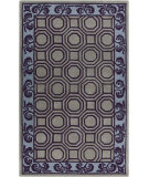 RugStudio presents Surya Bordeaux BRD-6005 Violet (purple) / Blue / Neutral Area Rug