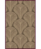 RugStudio presents Surya Bordeaux BRD-6015 Neutral / Violet (purple) Area Rug